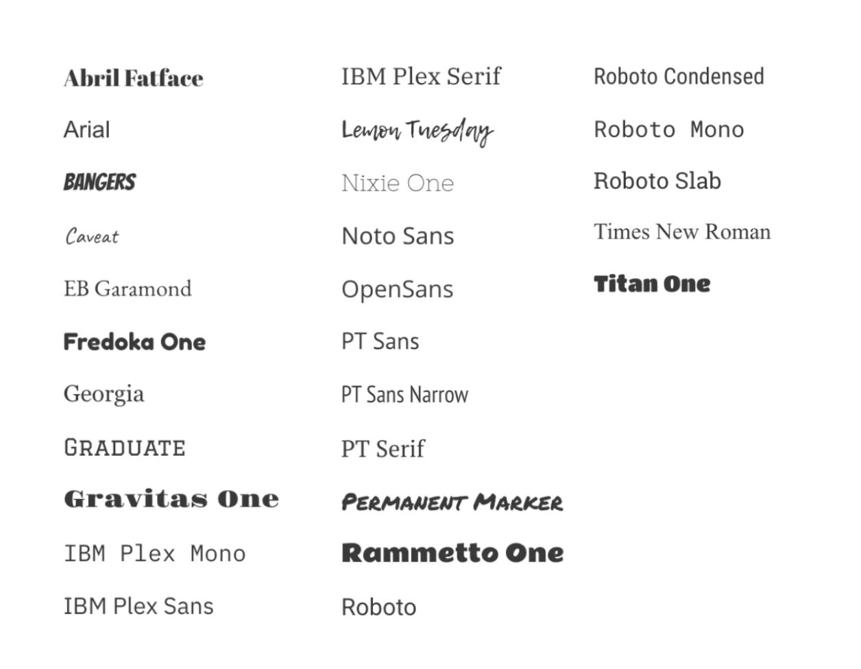Fonts – Miro Support & Help Center