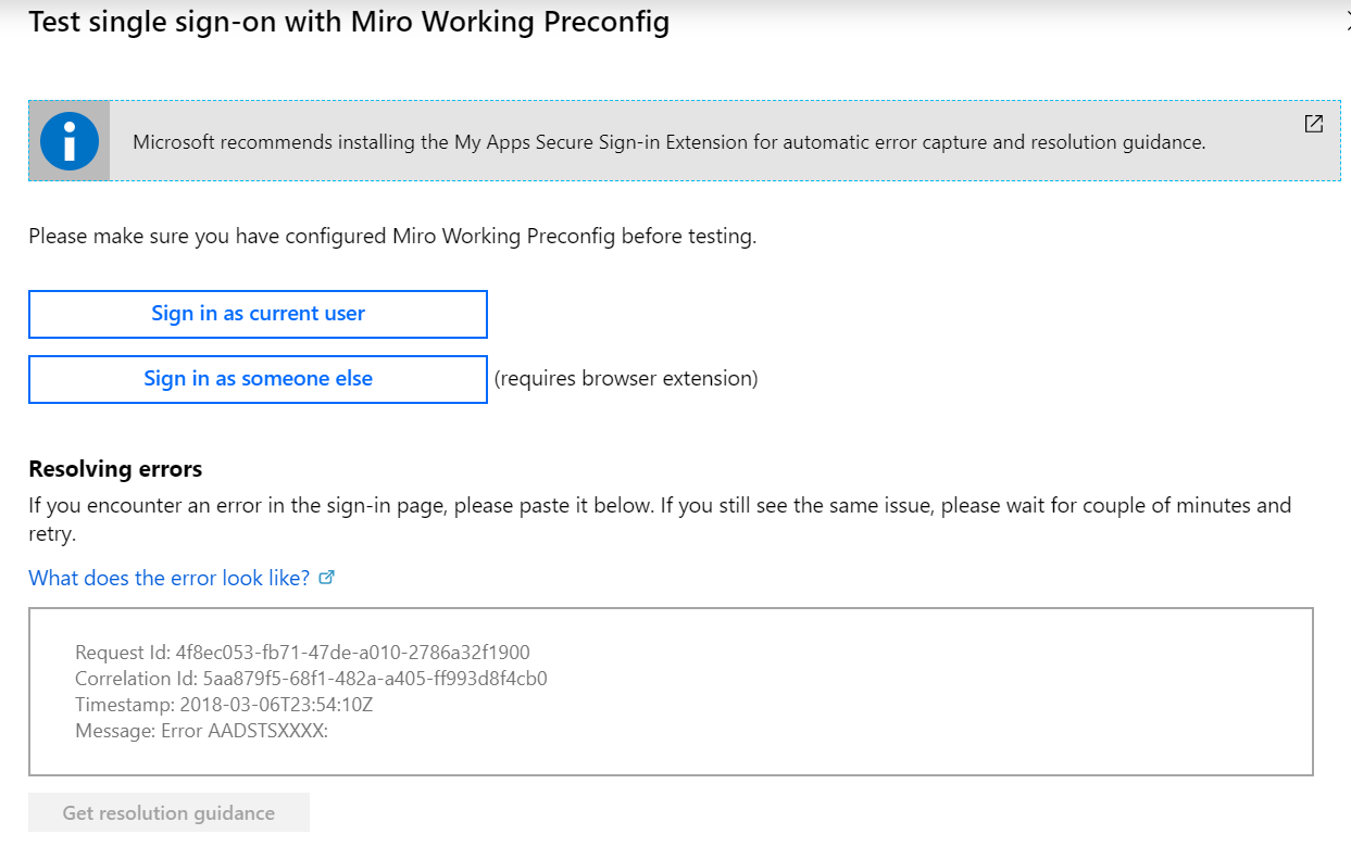 Possible Issues with SSO – Miro Support & Help Center