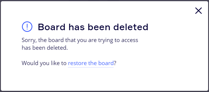 How to Restore a Deleted Board – Miro Support & Help Center